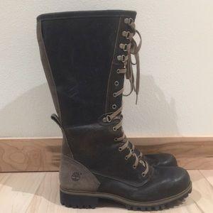 Timberland Wheelwright Tall Lace-up Boots - NEW